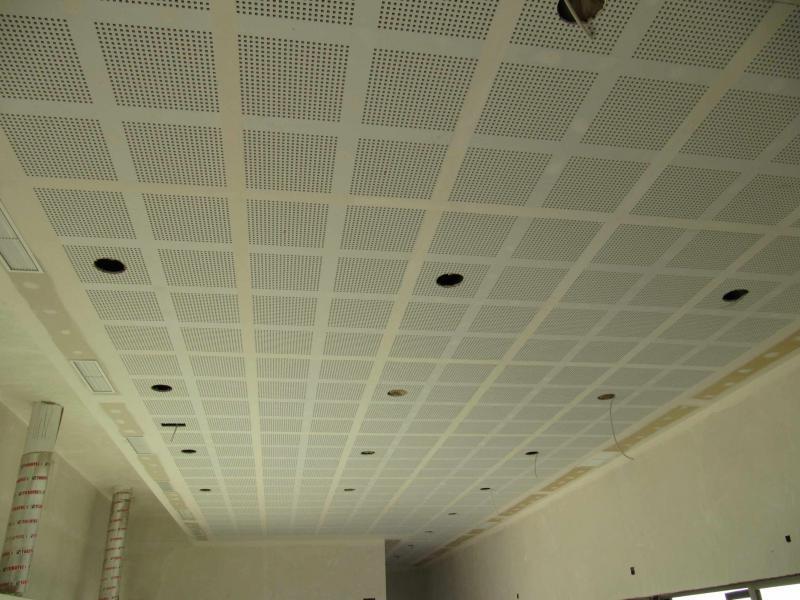 Centro social de mayores en sanjose de la vega pladinter - Placas de escayola para techos ...