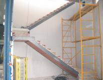 tabique pladur en escaleras